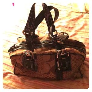 Coach Bags - Coach brown hand bag